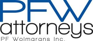 PFW attorneys - PF Wolmarans Inc.