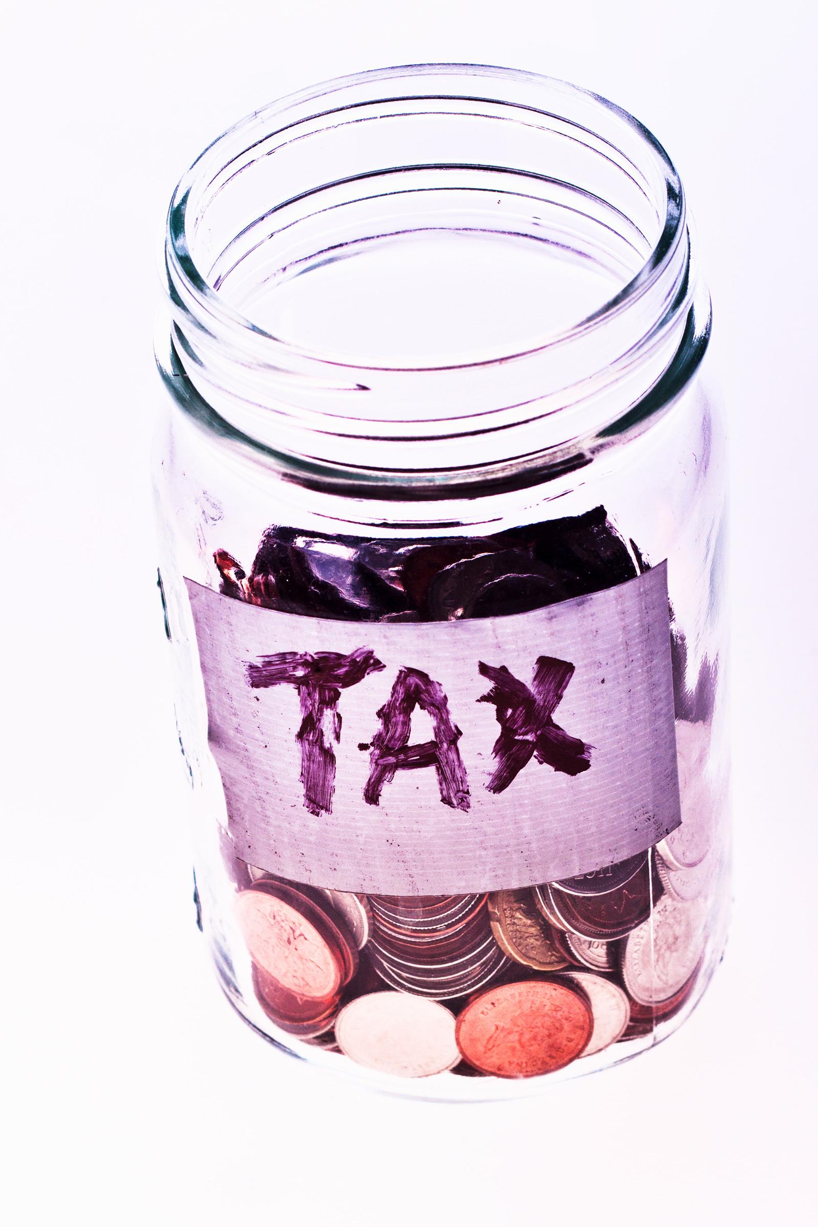 Tax jar.